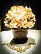 Бизнес-мысль 'Цветы из натуральной ракушки'